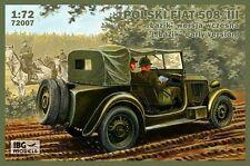 IBG 1/72 Polski Fiat 508/III Lazik PRIMA VERSIONE #72007