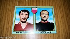 FIGURINA MIRA CALCIATORI 1968-69 - TOSCHI GIOVANNI-FERRARI LUIGI-REGGINA-nuova