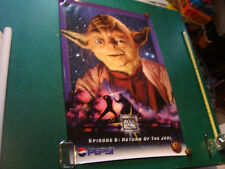 "Original Vintage Poster: Pepsi RETURN OF THE JEDI; YODA; 1996 24x36"""
