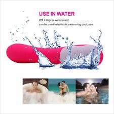 Multi Speed Women Waterproof Silicone Vibrator Stimulation Vibrating Massager