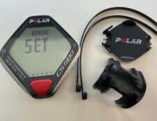CS500 Polar Speedometer Fahrradcomputer   CS 500  Guter Zustand