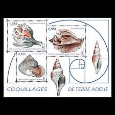 TAAF 2019 - Seashells Marine life Fish - MNH