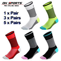 Cycling Socks Bike Riding Men Women Sport Calf Knee Socks Breathable Multipack