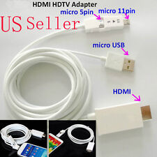 3M HDTV HDMI Cable for Samsung Galaxy Tab 3 (8.0/10.1) S2 S3 S4 S5 Note2 3 4