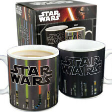 Star Wars Mug lightsaber Appear Heat Temperature Color Changing XMAS Ceramic Cup