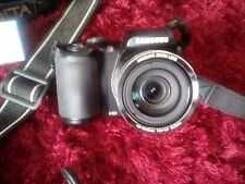 Samsung WB Series WB100 16.2MP Digital Camera - Black (EC-WB100ZDDBZA)