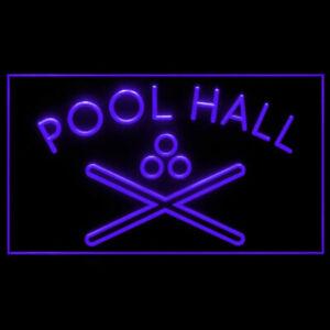 230018 Pool Hall Billiard 8 ball Graceland Deluxe Display Neon Sign