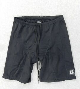 Desoto Triathlon Padded Shorts Tights (Mens Large) Black