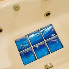 1x 3D Self-adhesive Bathtub Non Slip Appliques Stickers Decals Tub Tattoo #2