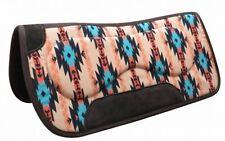 "Showman 31"" x 32"" Felt Bottom Navajo Print Saddle Pad With Built Up Sides!"