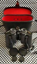 VINTAGE HANIMEX 16 X 50 BINOCULARS & CASE FULLY COATED OPTICS