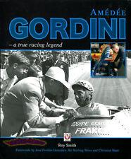 AMEDEE GORDINI BOOK RENAULT ALPINE CAR RACING LEGEND F1 FORMULA 1 SMITH R8