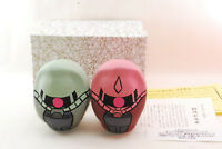 "Gundam ""SYA ZAKU & ZAKU"" ""Shirakawa Daruma"" Anime Japan Limited from Japan"