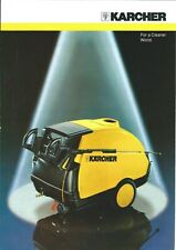 Equipment Brochure - Karcher - Pressure Washers - c1993 (E5739)
