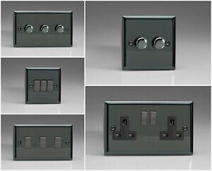 Varilight Classic Iridium Black Range - Black Inserts & Iridium Switches