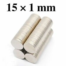 Small Flat Magnets N35 Super Strong Mini Round Rare Earth Neodymium Disc 100pcs