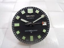 NEW REPLACEMENT SEIKO COMPLETE SET DIAL & HANDS FOR 6105-8110/8119 DIVER'S WATCH