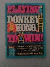 ARTWORK INCLUDED!!! Playing Donkey Kong To Win Guide Video Game Books, Inc