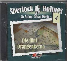 ANGEBOT CD - SHERLOCK HOLMES - FOLGE 4 DIE FÜNF ORANGENKERNE NEUWARE