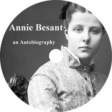 Annie Besant, Her Autobiography Audiobook on Her Search for Truth on 1 MP3 CD