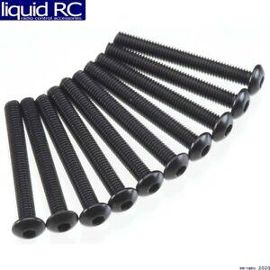 Axial Racing AXA120 AXA120 Hex Socket Button Head M3x25mm Black 10