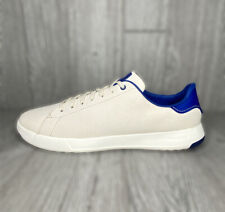 Cole Haan Grand Series OS Pro Tennis Birch True Blue Leather Sneakers Size 10