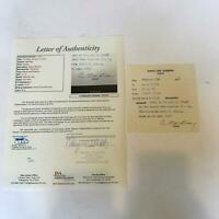 Hap Happy Day Signed Original 1954 Toronto Maple Leafs Contract JSA COA
