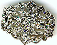 Marcasite Unbranded Fine Brooches & Pins