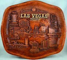 Vtg Las Vegas Casino 3D Molded Souvenir tray/wall Décor Marked ASMCO