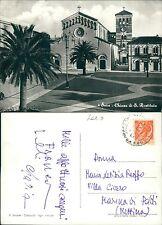 Cartolina Frosinone Sora Chiesa di Santa Restituita