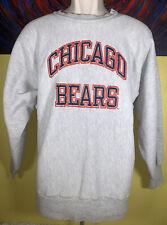 Vintage Champion Reverse Weave Chicago Bears Crewneck Sweatshirt Size Large
