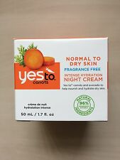 Yes to Carrots - Intense Hydration Night Cream 50ml - Normal to Dry Skin