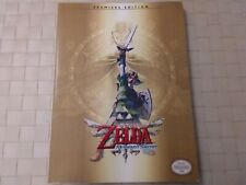 guide strategy official prima premiere ed. the legend of zelda skyward sword wii