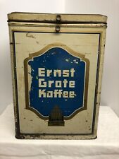Ernst Grote Kaffee Blechdose