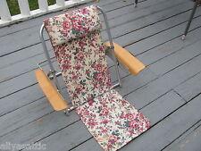 Rare Airlite Product Brooklyn NY Mid-Century Modern Aero-Space Beach Chair