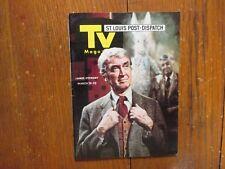 March 19, 1972 St. Louis Post TV Magazine (JAMES  STEWART/HARVEY/JIMMY  STEWART)