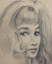 Porträts & Personen künstlerische Malerei Bleistift