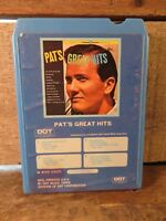PAT BOONE Great Hits (8-Track Tape) Greatest