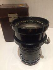 Schneider Gottingen Xenon 12.5cm 1932 Night Exakta Lens Sn#59188 German Military