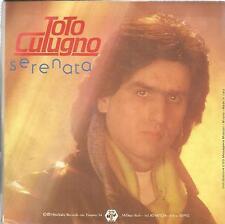 disco 45 GIRI Toto CUTUGNO SERENATA