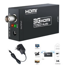 1080P 3G HDMI to SDI display Converter  Adapter Coaxial Cables For TV Camera