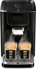PHILIPS SENSEO Quadrante HD7865/60 Pad Kaffeemaschine 1,2L XL-Wassertank schwarz