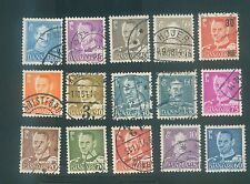 Denmark Mix used stamps #1