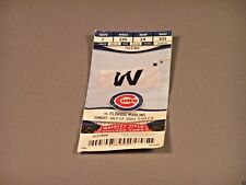 Chicago Cubs Game Ticket Stub - July 17, 2011 vs the Florida Marlins