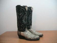 Vintage Womens 6.5  Olathe Exotic RINGTAIL LIZARD Western Cowboy Boots, RARE!!