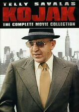 Kojak Complete Movie Collection 0826663128864 With Telly Savalas DVD Region 1