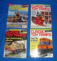 Classic Toy Trains Magazine Lot of (4) All from the Year 1999