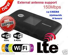 ZTE MF910 Pocket Cat4 LTE 4G 3G WifI 2.4 & 5GHz UNLOCKED mobile router Hotspot
