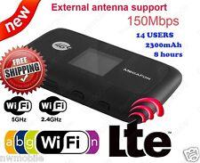 ZTE MF910 Pocket Cat4 LTE 4G 3G WifI 2.4 & 5GHz UNLOCKED mobile router Hotspot