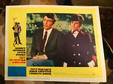 How To Steal A Million 1966 20th Century Fox lobby card Audrey Hepburn Peter O'T